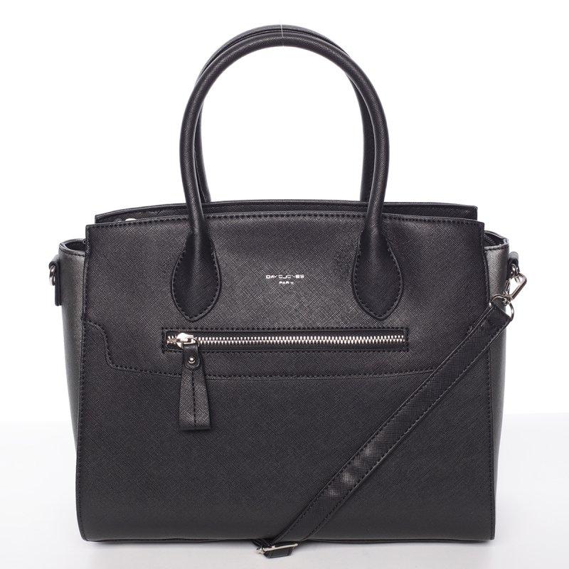 Elegantní dámská kabelka do ruky Vanessa, černá
