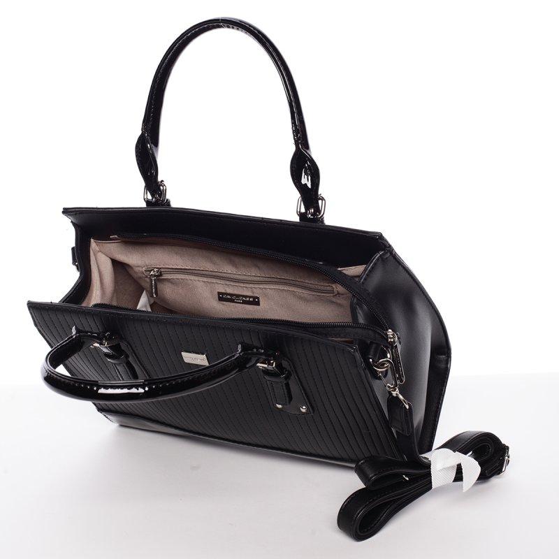 Nadčasová dámská kabelka Stefanie, černá