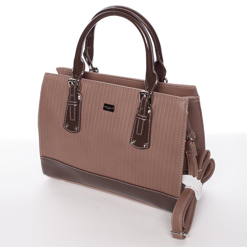 Nadčasová dámská kabelka Stefanie, růžová