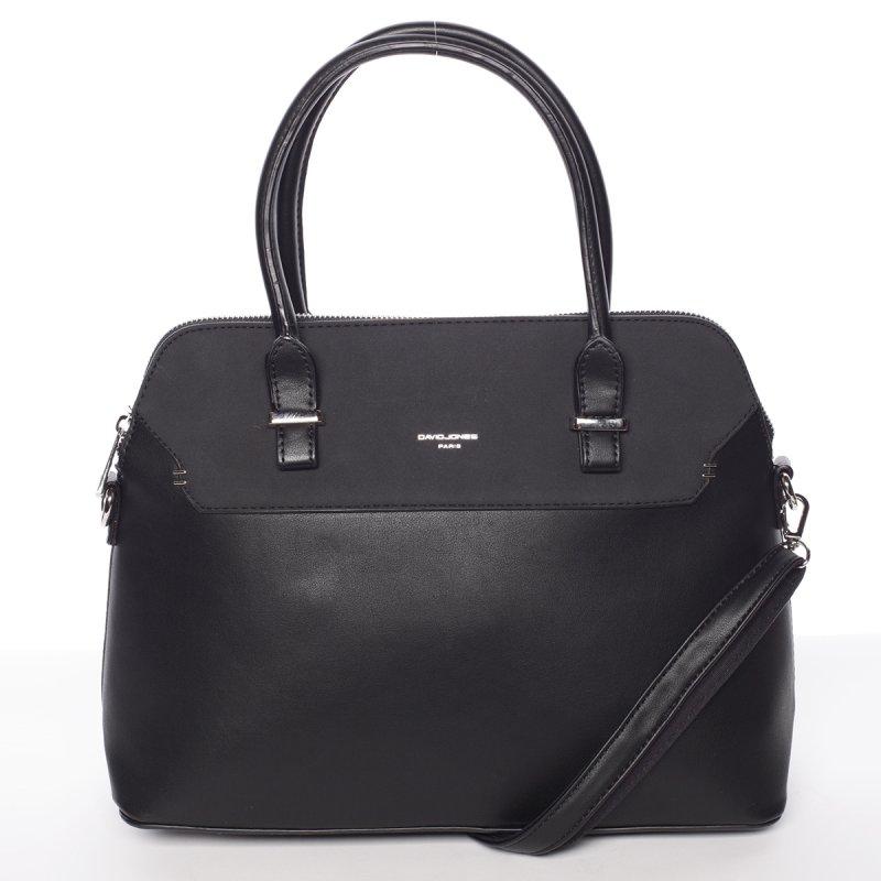 Černá pevná dámská kabelka Stefania