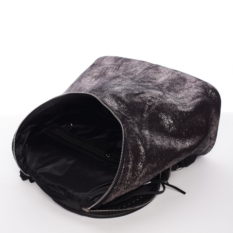 Netradiční dámský batoh Daria, černý