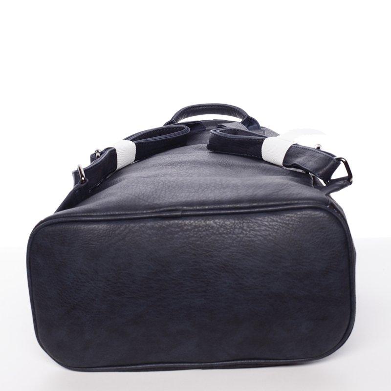 Netradiční dámský batoh Daria, modrý