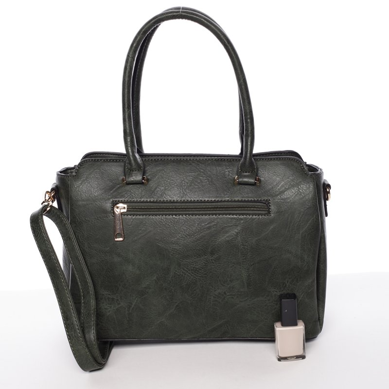 Atraktivní kvalitní dámská kabelka Bianka, zelená