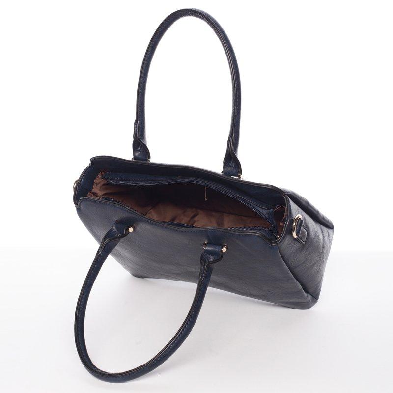 Atraktivní kvalitní dámská kabelka Bianka, modrá