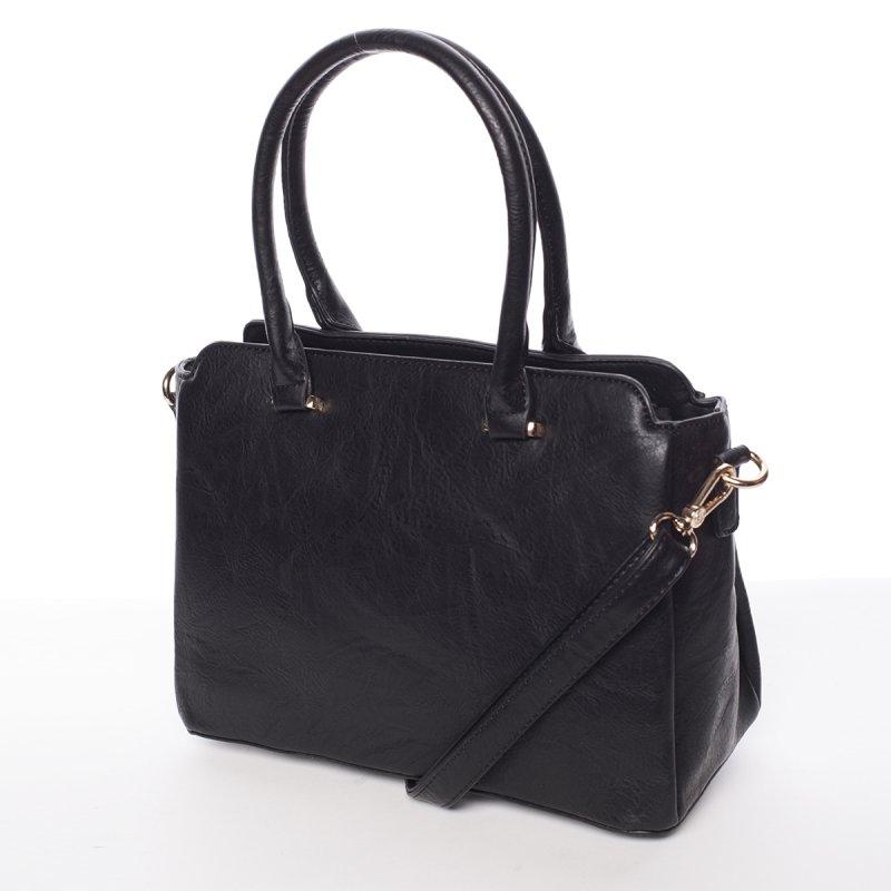Atraktivní kvalitní dámská kabelka Bianka, černá