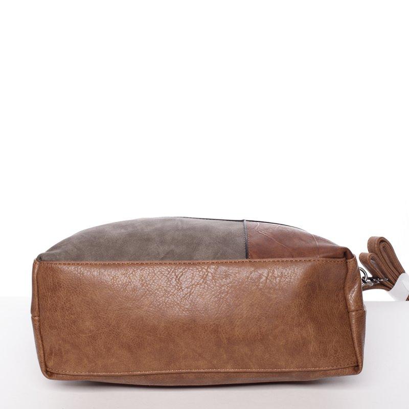 Dámská luxusní kabelka Valerie, hnědá