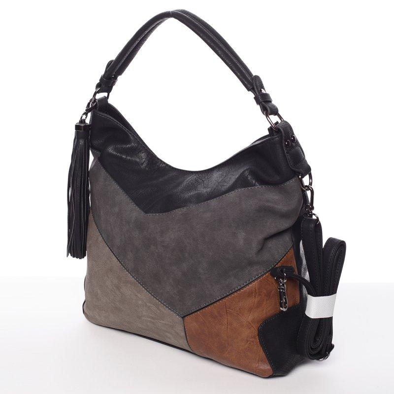 Dámská luxusní kabelka Valerie, černá