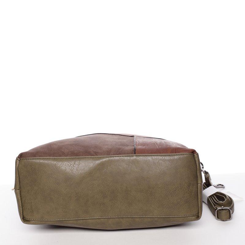 Dámská luxusní kabelka Valerie, zelená