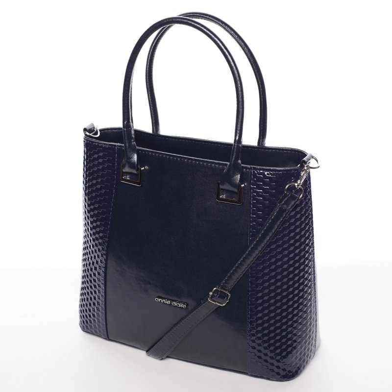 Modrá elegantní dámská kabelka Larisa