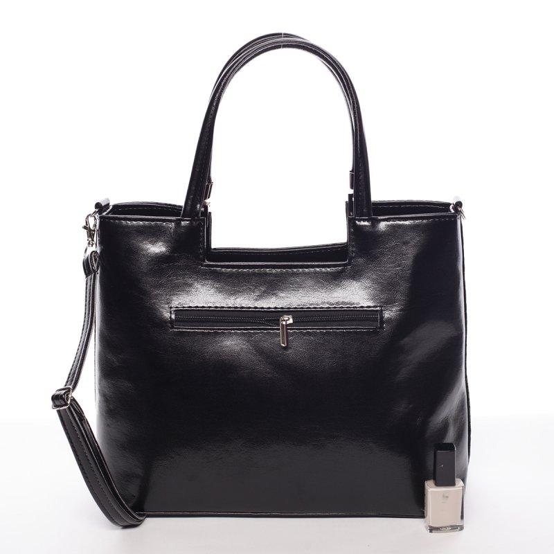Trendy dámská kabelka Inessa, černá