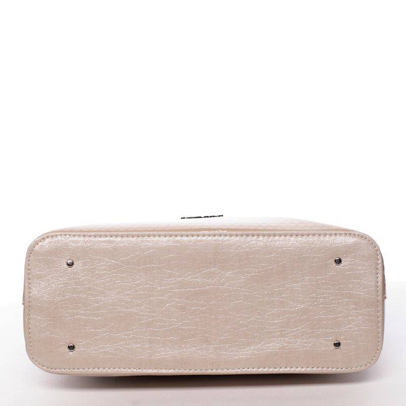 Trendy dámská kabelka Iness, béžová