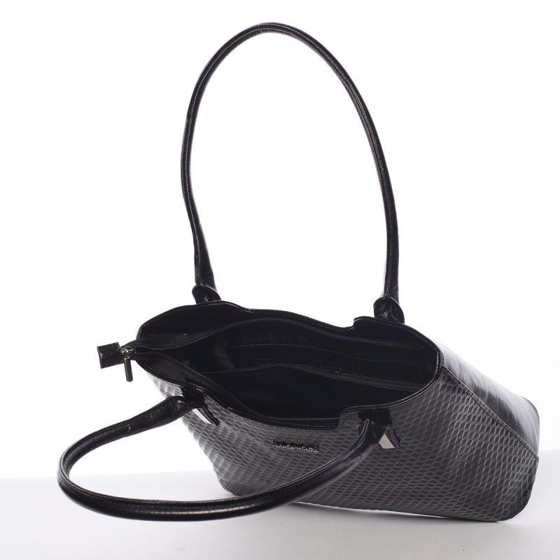 Vzorovaná dámská kabelka Jenny, modrá