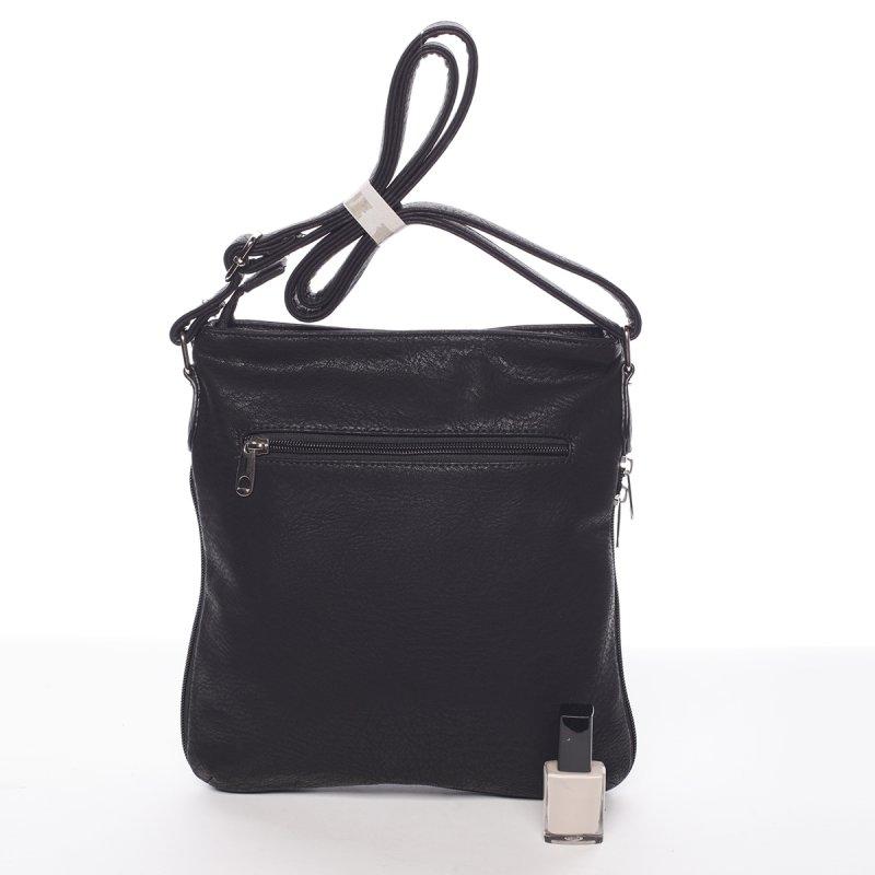 Moderní dámská crossbody kabelka Dafne, černá