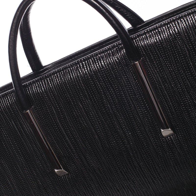 Pevná dámská kabelka Noemi, černá