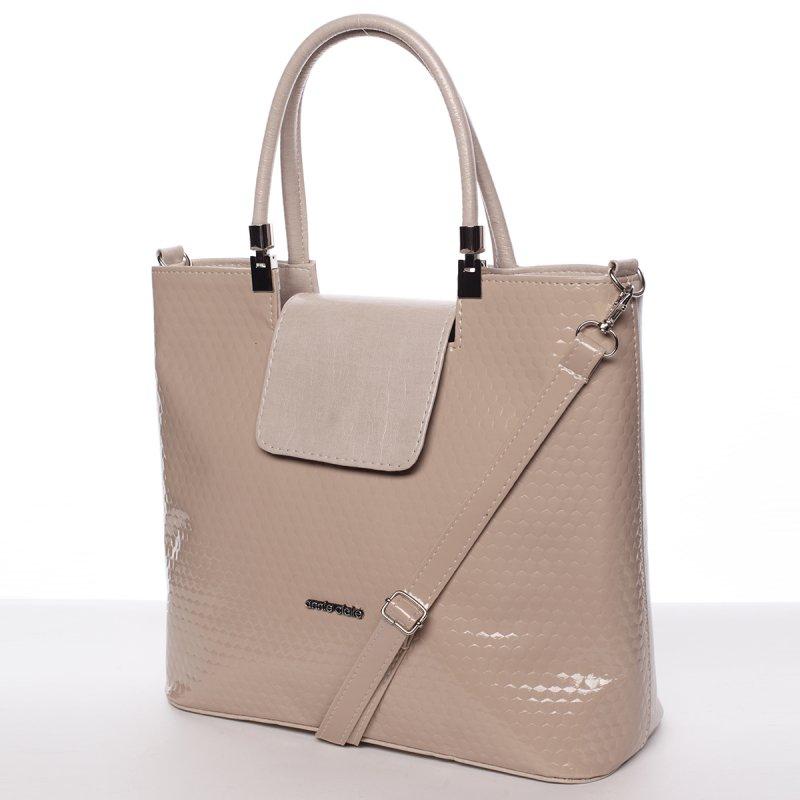 Dámská kabelka do ruky Marisa, béžová