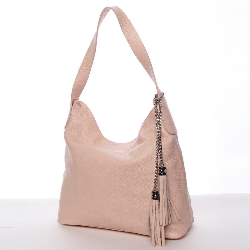 Elegantní kabelka Devon, růžová