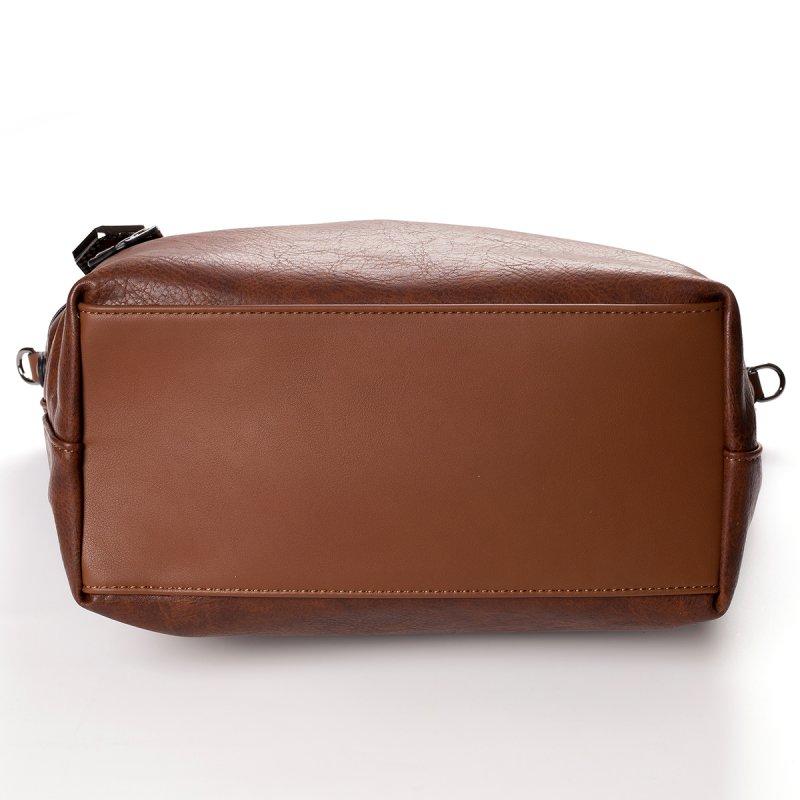 Atraktivní dámská kabelka do ruky Marisa, hnědá