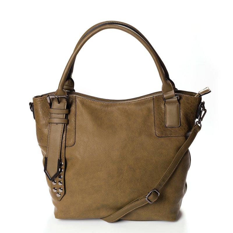 Atraktivní dámská kabelka do ruky Marisa, zelená