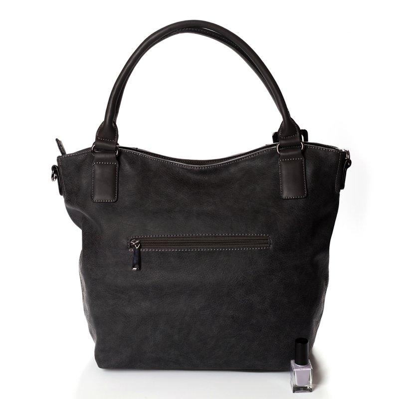Atraktivní dámská kabelka do ruky Marisa, šedá