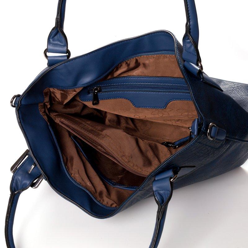 Atraktivní dámská kabelka do ruky Marisa, modrá