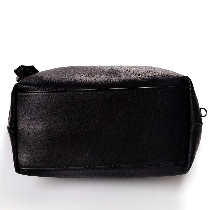 Atraktivní dámská kabelka do ruky Marisa, černá