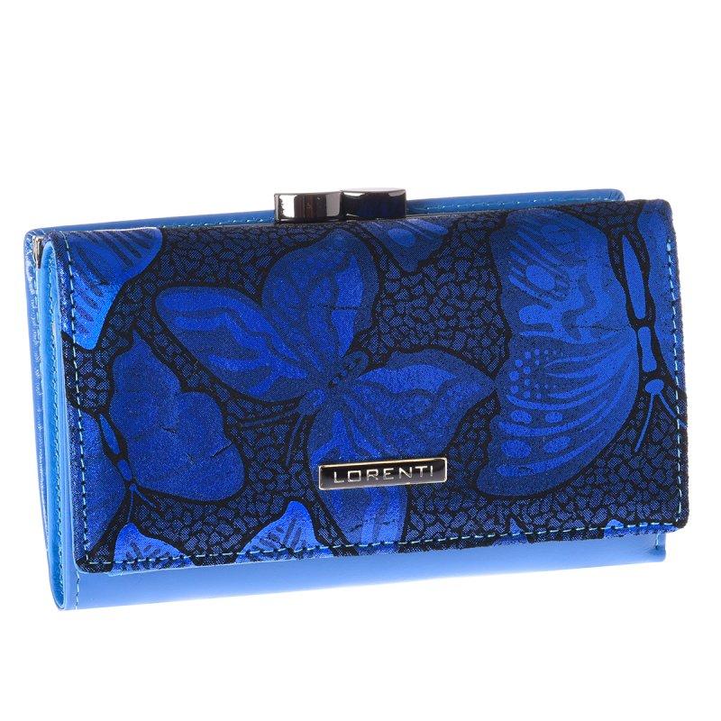 Luxusní dámská peněženka Perla, modrá