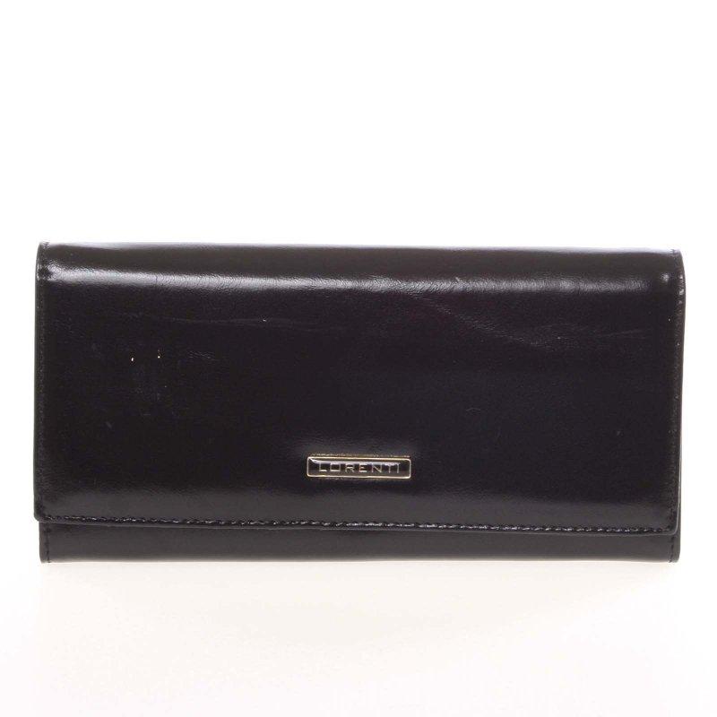 Matná dámská peněženka Alexie, černá