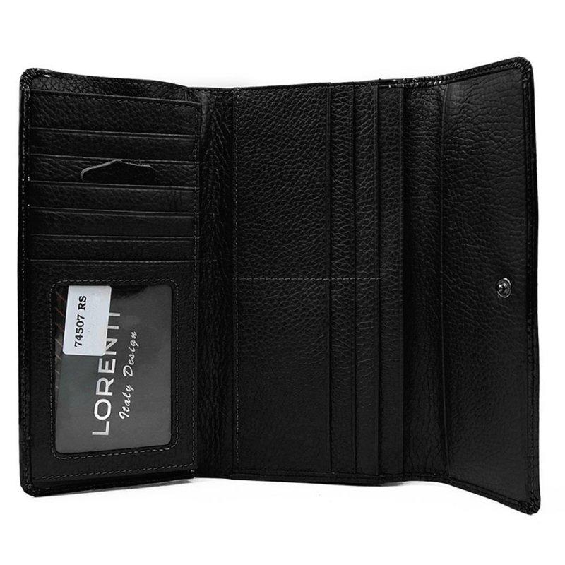 Kožená dámská peněženka Alison, černá