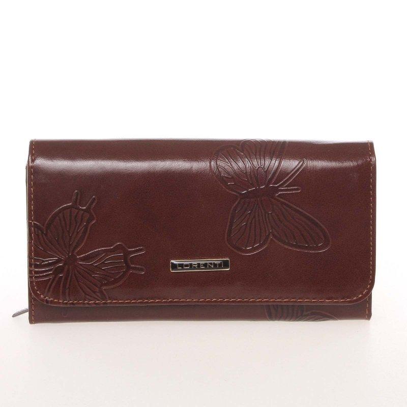 Hnědá dámská peněženka Francesca