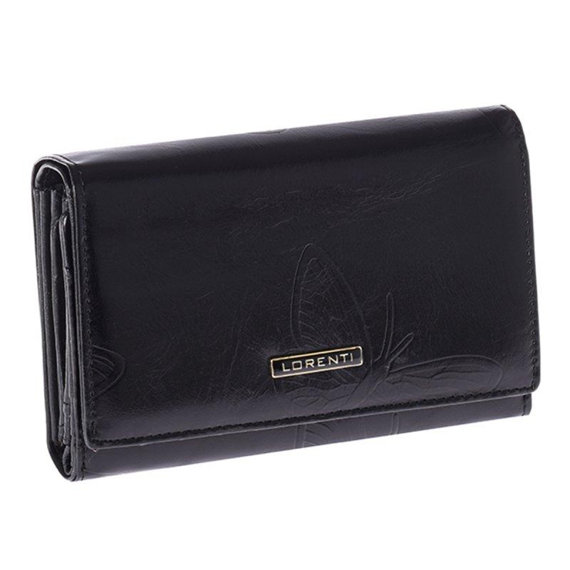 Kožená dámská peněženka Catalina, černá