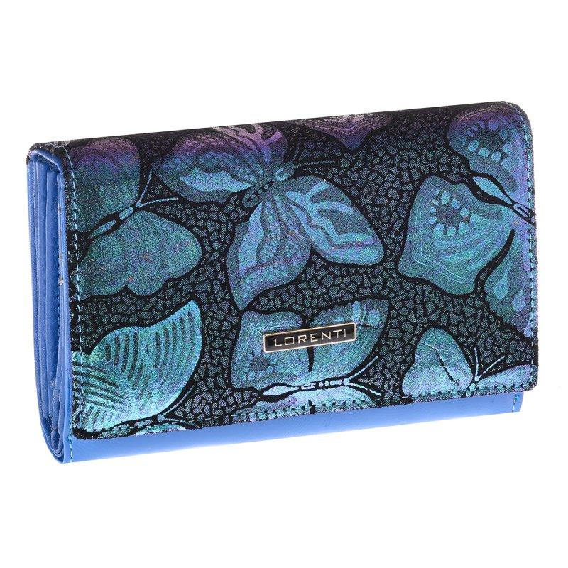 Dámská peněženka Angela, modrá/zelená