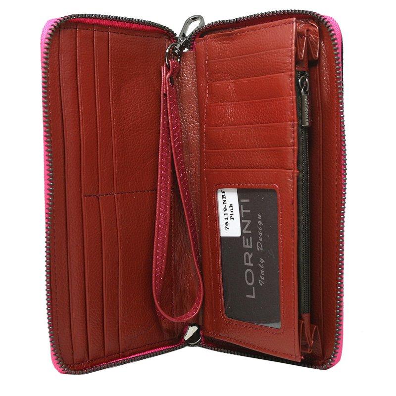 Elegantní dámská peněženka Sara, růžová