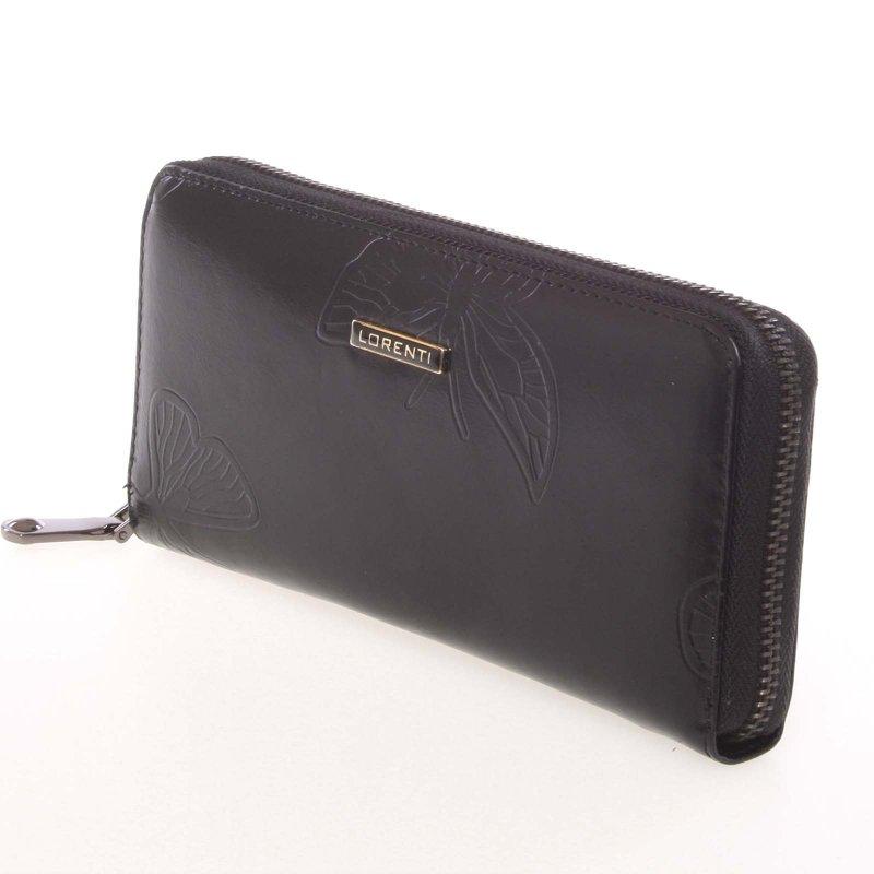 Kožená dámská peněženka Liberta, černá