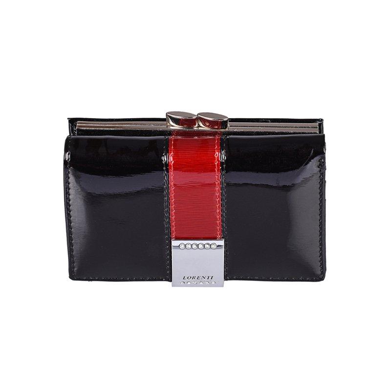 Kožená dámská peněženka Gladis, černá