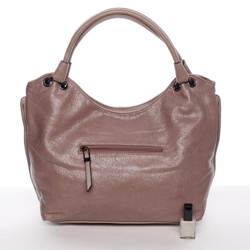 Měkká dámská kabelka Solana, růžová