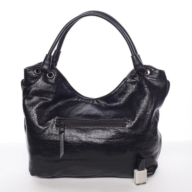 Měkká dámská kabelka Solana, černá