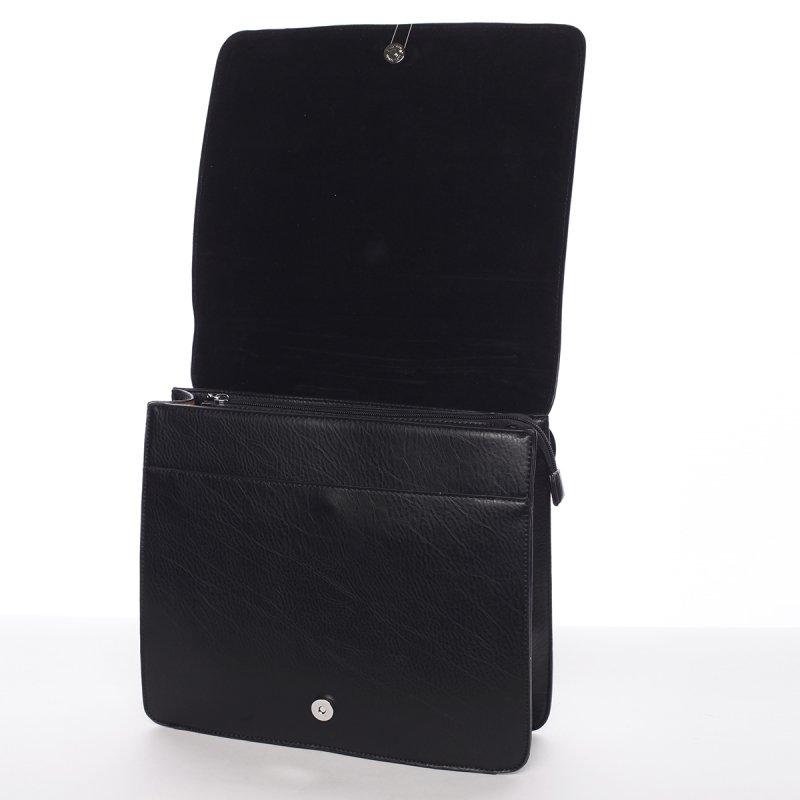 Luxusní dámský batůžek Viviana, černý