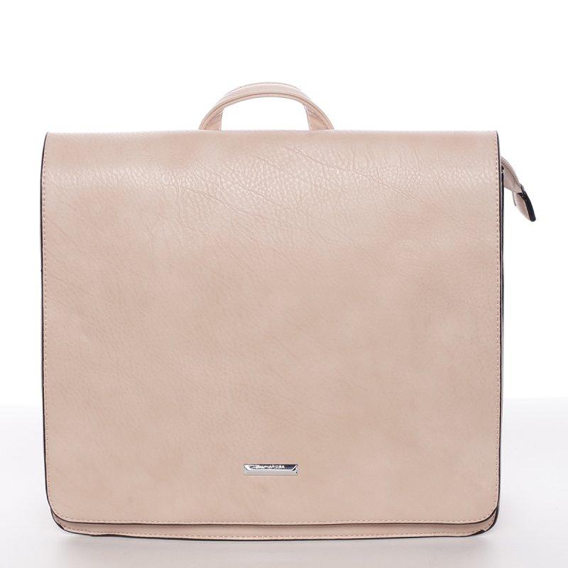 Luxusní dámský batůžek Viviana, růžový