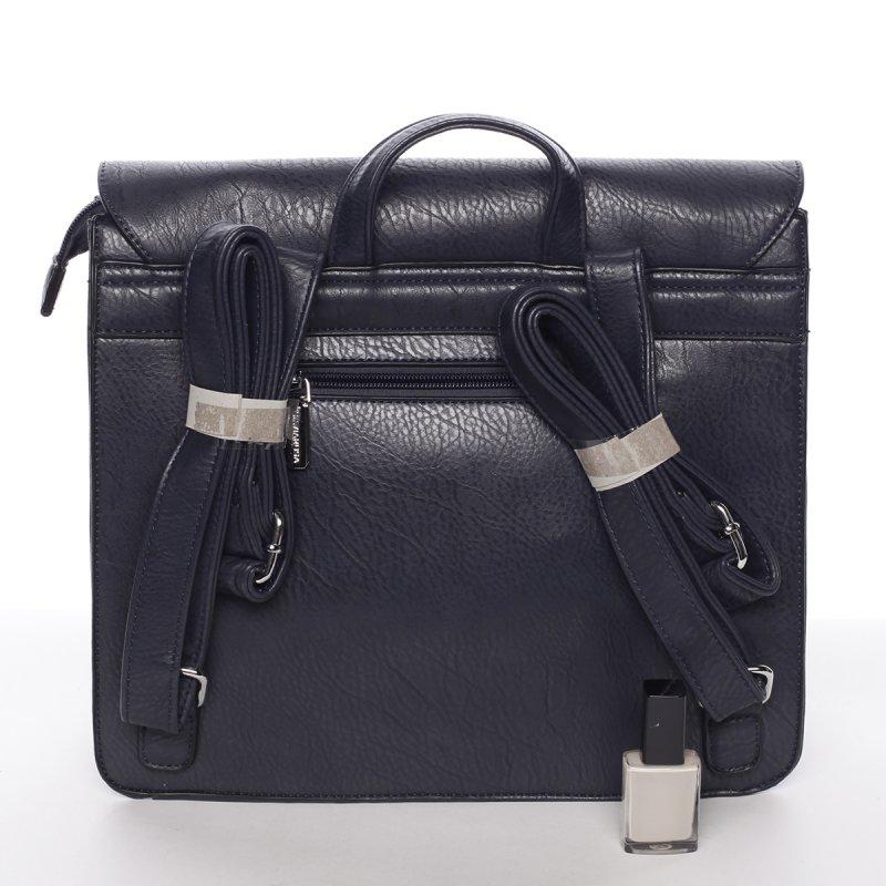 Luxusní dámský batůžek Viviana, modrý