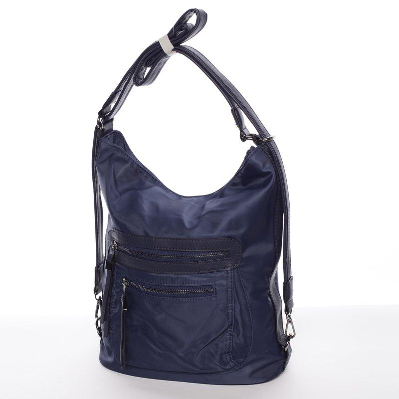 Exkluzivně lehká dámská crossbody kabelka Anna, modrá