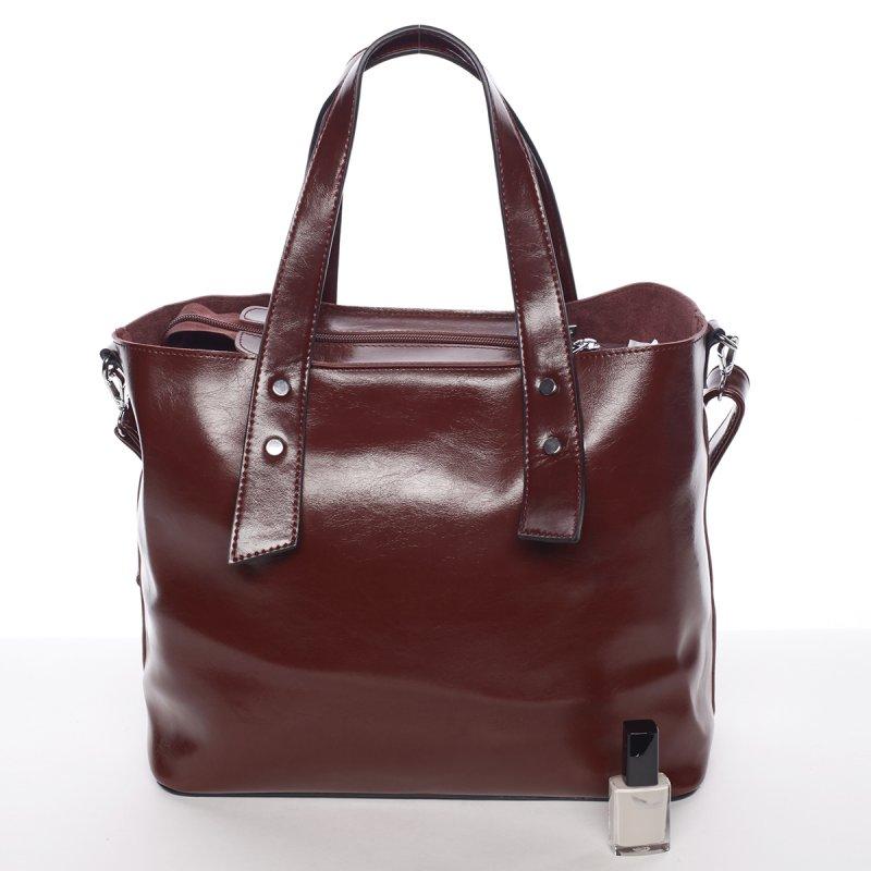 Elegantní dámská kabelka do ruky Paula, červená