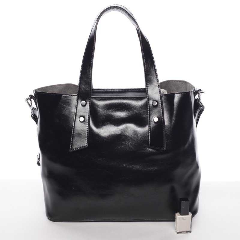Elegantní dámská kabelka do ruky Paula, černá