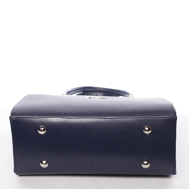 Luxusní dámská kabelka Fatima, modrá