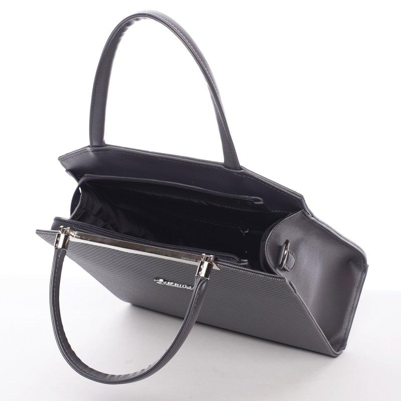 Luxusní dámská kabelka Fatima, šedá