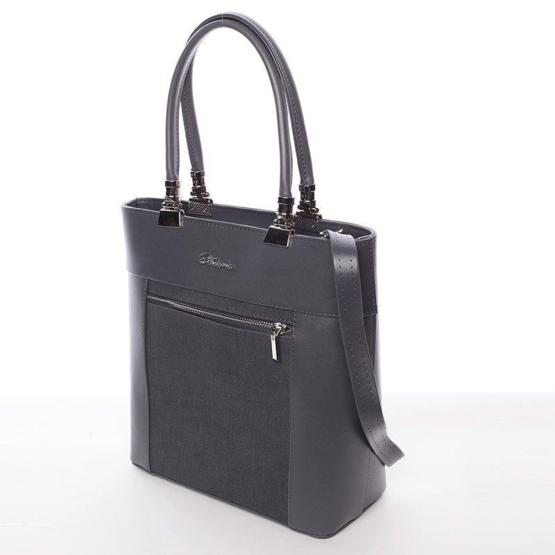 Elegantní dámská kabelka Milores, šedá