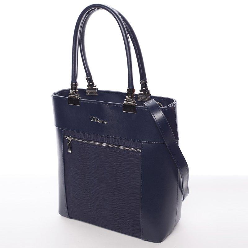 Elegantní dámská kabelka Milores, modrá