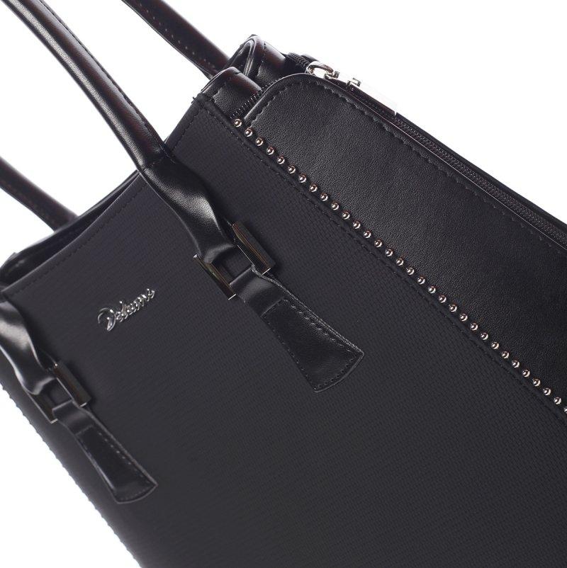 Moderní dámská kabelka Samanta,černá
