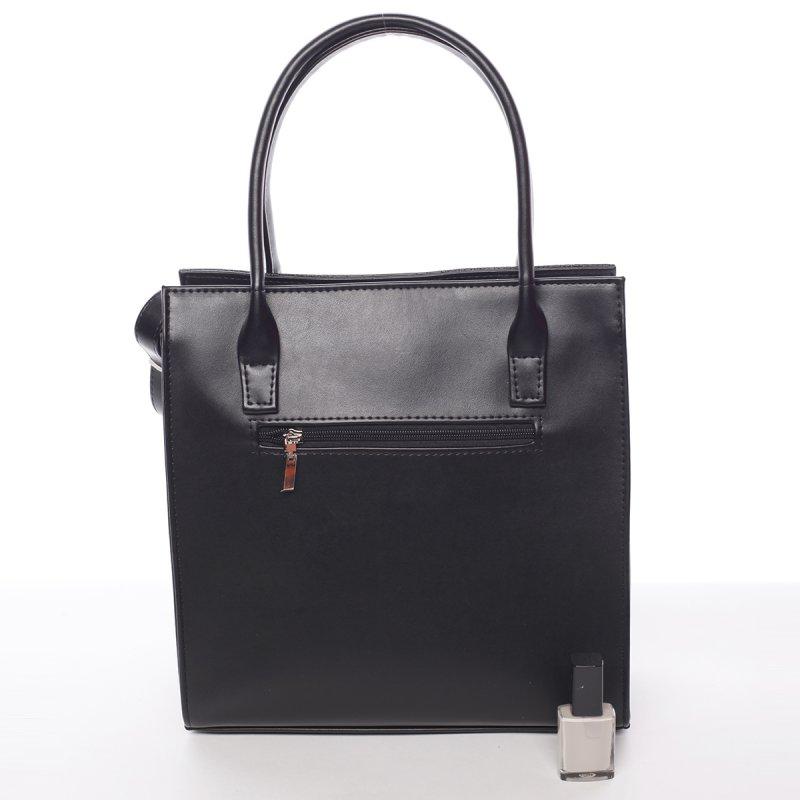 Atraktivní dámská kabelka Póla, černá