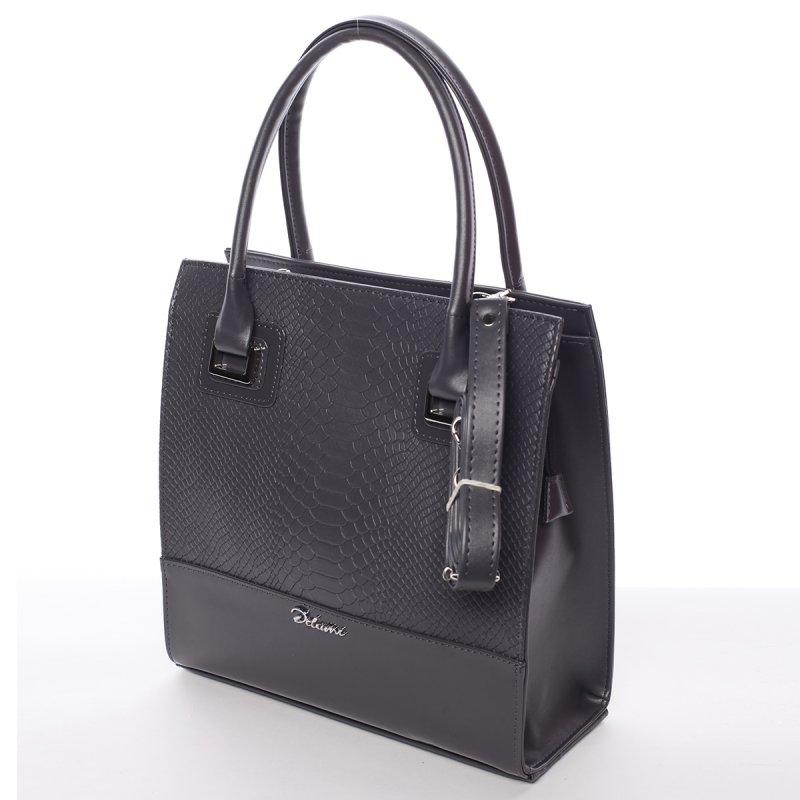 Atraktivní dámská kabelka Póla, šedá