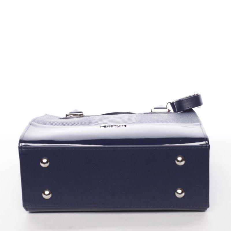 Atraktivní dámská kabelka Póla, modrá